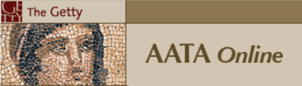 AATA Online (Art and Archaeology Technical Abstracts Online)